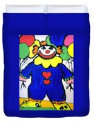 Clown For Jack Duvet Cover