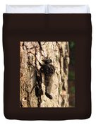 Club Tailed Robber Fly Duvet Cover