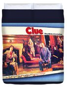 Clue Board Game Painting Duvet Cover