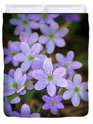 Clump Of Springtime Duvet Cover