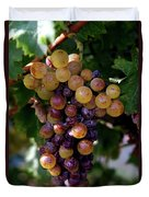 Cluster Of Ripe Grapes Duvet Cover