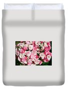 Cluster Of Roses  Duvet Cover