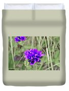 Clustered Bellflower Duvet Cover
