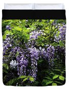 Clusters Of Wisteria Duvet Cover