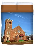 Clutier Community Center Duvet Cover