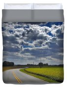 Clyde Fitzgerald Road Scenery Duvet Cover