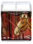 Clydesdale Ripped Duvet Cover