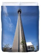 Cn Tower Toronto Ontario Duvet Cover