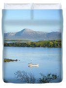 Co Mayo, Ireland Fishing Boat In Clew Duvet Cover