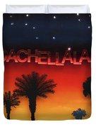 Coachellaland Duvet Cover