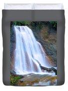 Coal Creek Falls Duvet Cover
