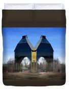 Coal Loader New Buffalo Duvet Cover