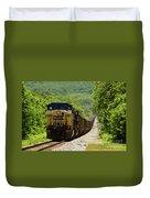 Coal Train Duvet Cover