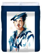 The Uss Red White And Blue Coast Guard 1923 Duvet Cover