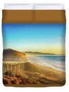 Coast Highway Del Mar Duvet Cover