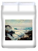 Coast Of Maine Duvet Cover