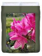Coast Rhododendran- Washington State Flower Duvet Cover