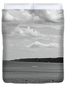 Coast - The Lonely Boat Duvet Cover