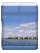 Coastal Area Of Charleston Duvet Cover