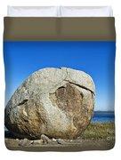 Coastal Boulder Duvet Cover
