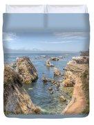 Coastal California Duvet Cover