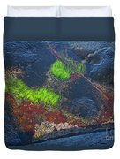 Coastal Floor At Low Tide Duvet Cover