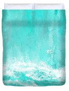 Coastal Inspired Art Duvet Cover