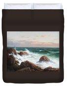 Coastal Landscape. Duvet Cover
