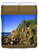 Coastal Maine Duvet Cover by John Greim