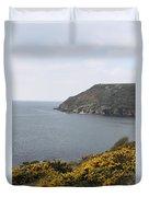 Coastal Path Cornwall Duvet Cover