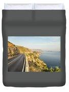Coastal Road Near Dubrovnik In Croatia Duvet Cover