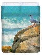 Coastal Rocks Duvet Cover