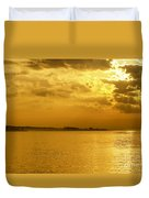 Coastal Sunrise Duvet Cover