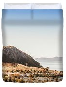 Coastal Tasmanian Town Duvet Cover