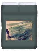 Coastal Waters Duvet Cover by Gregory Dallum
