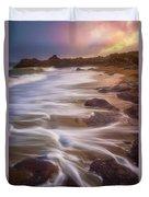 Coastal Whispers Duvet Cover