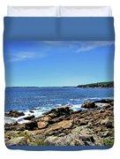 Coastline At Otter Point 5 Duvet Cover