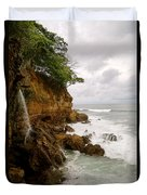 Coastline Waterfall Duvet Cover