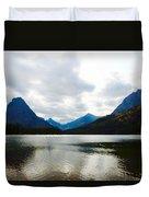 Cobalt Lake Duvet Cover