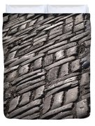 Cobble Stone Walk Duvet Cover