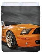 Cobra Power - Shelby Gt500 Mustang Duvet Cover