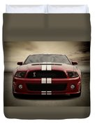 Cobra Red Duvet Cover