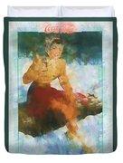 Coca Cola 1941 Duvet Cover