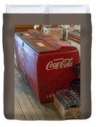 Coca-cola Chest Cooler General Store Duvet Cover