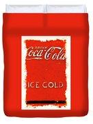 Coca-cola Cooler Duvet Cover