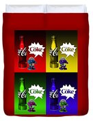 Coca-cola Forever Young 12 Duvet Cover