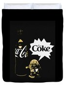 Coca-cola Forever Young 7 Duvet Cover