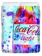 Coca Cola Light Duvet Cover