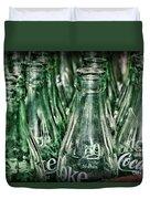 Coca Cola So Many Bottles Duvet Cover