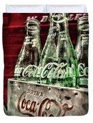 Coca Cola Vintage 1950s Duvet Cover